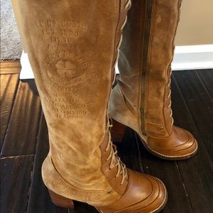 Free People Lace Up Boots